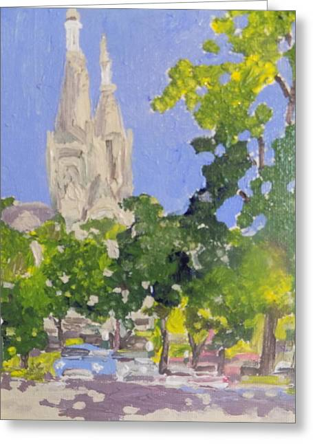 Cathedral Greeting Card by Rodger Ellingson