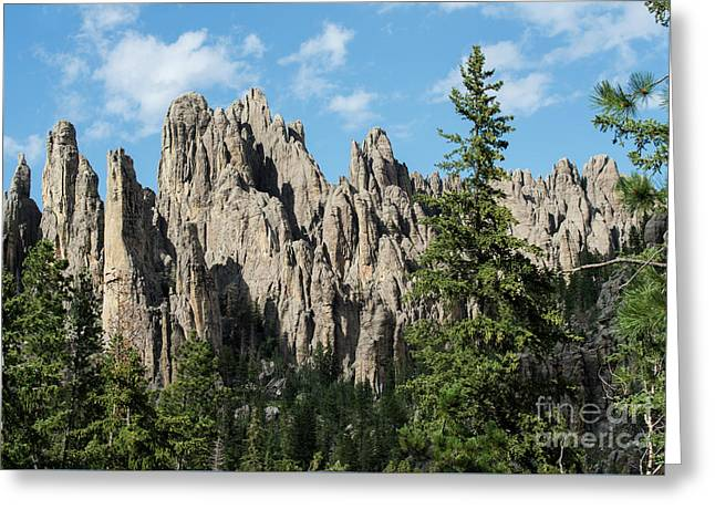 Cathedral Spires Greeting Card