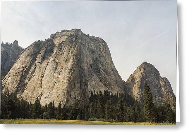 Cathedral Spires Yosemite Valley Yosemite National Park Greeting Card