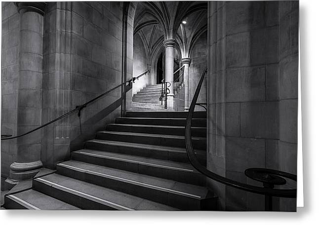 Cathedral Stairwell Greeting Card