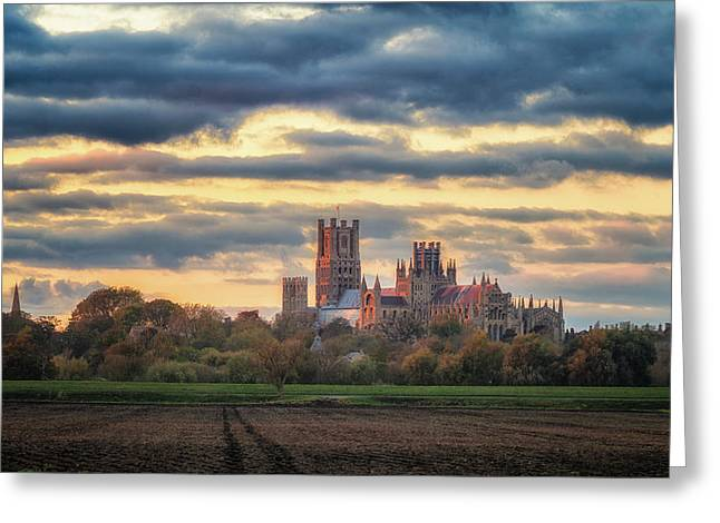 Cathedral Sunset Greeting Card
