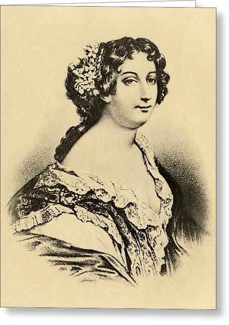 Catherine Marie De Lorraine, Duchess De Greeting Card