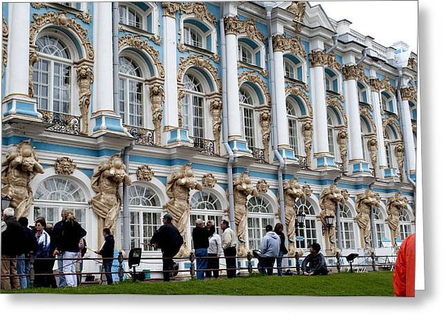 Catherine Palace C055 Greeting Card by Charles  Ridgway