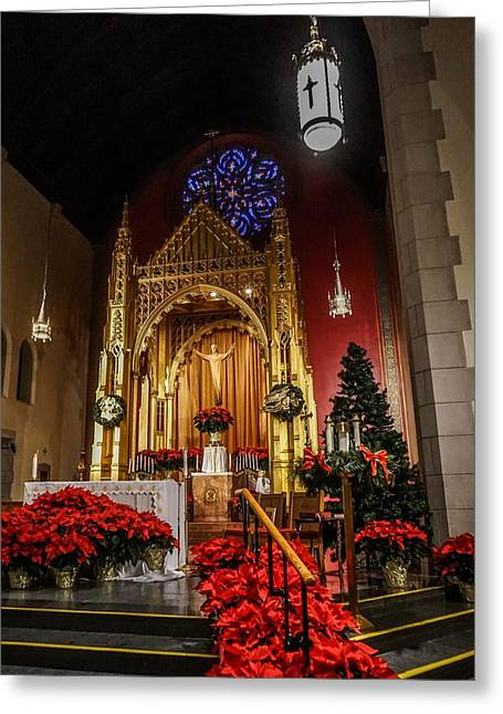 Catholic Christmas Greeting Card