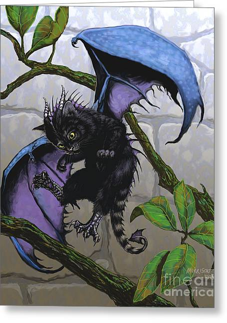 Catragon Greeting Card