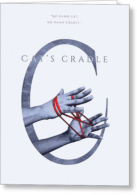 Cat's Cradle, Kurt Vonnegut Greeting Card by Connor Sorhaindo