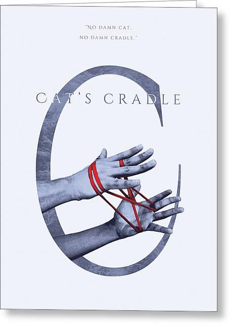 Cat's Cradle, Kurt Vonnegut Greeting Card