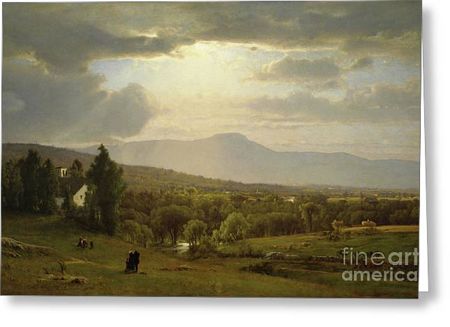 Catskill Mountains Greeting Card by George Inness