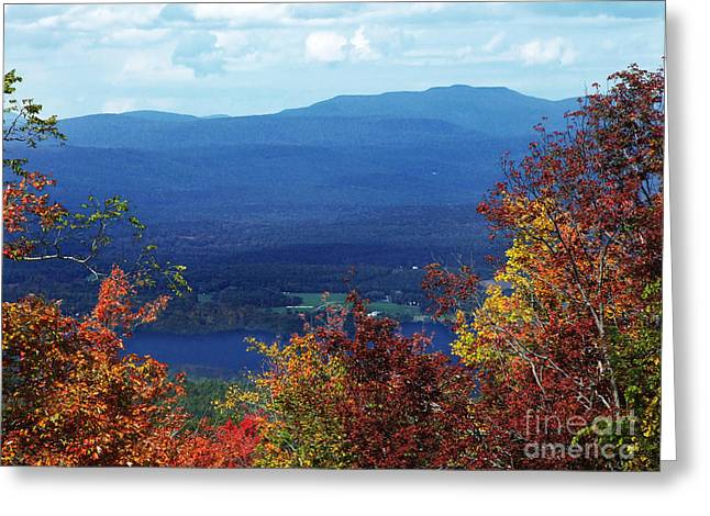 Catskill Mountains Photograph Greeting Card by Kristen Fox