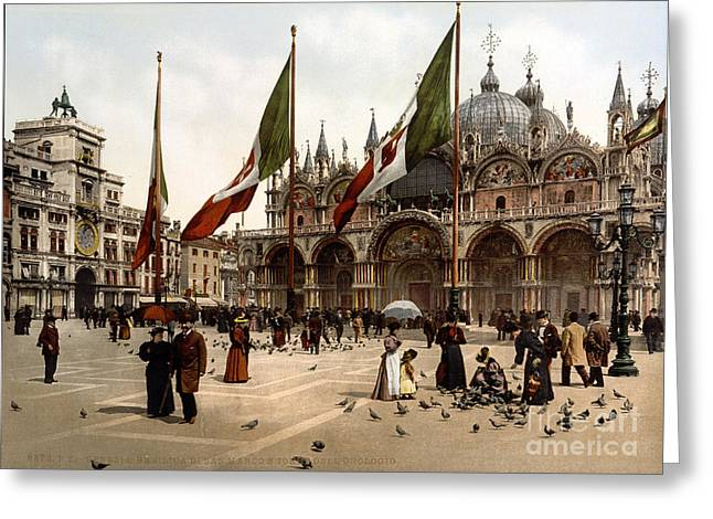 Cattedrale Patriarcale Di San Marco Greeting Card by Science Source