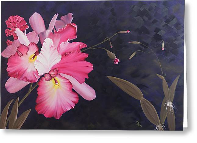 Cattleya Greeting Card