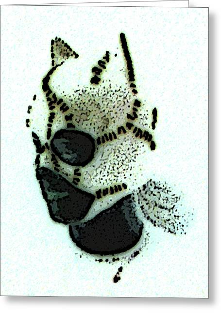 Catwoman Poster Greeting Card