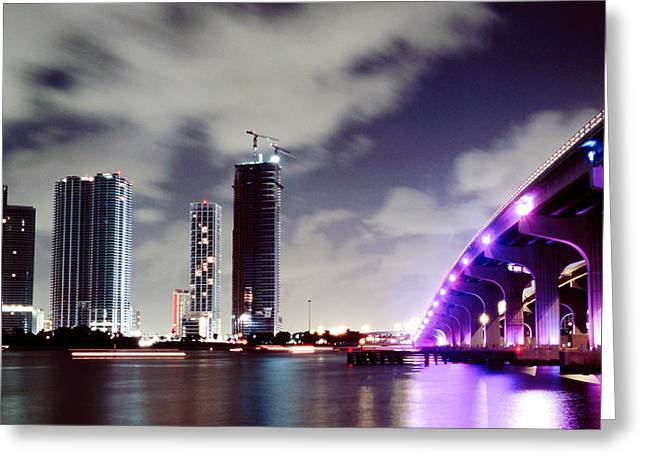 Causeway Bridge Skyline Greeting Card