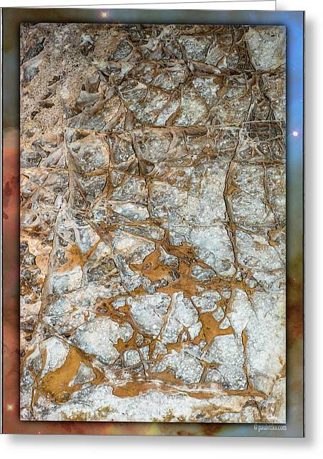 Cave Abstraction.... Greeting Card