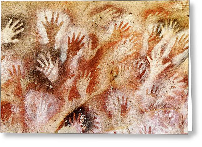 Cave Of The Hands - Cueva De Las Manos Greeting Card