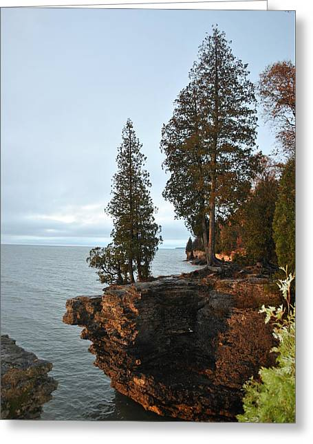 Cave Point Greeting Card