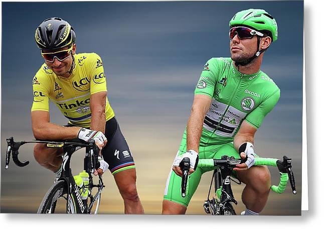 Cavendish V Sagan 2 Greeting Card