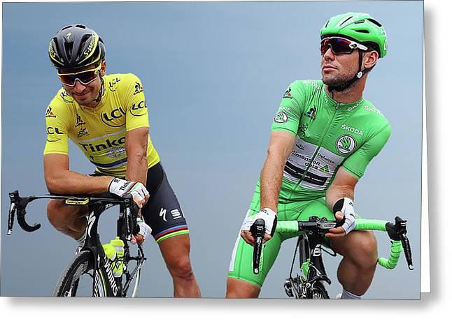 Cavendish V Sagan 3 Greeting Card