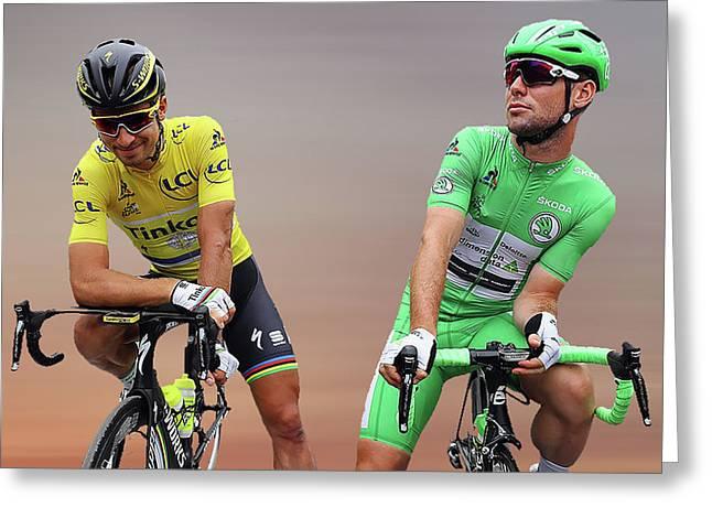 Cavendish V Sagan 4 Greeting Card