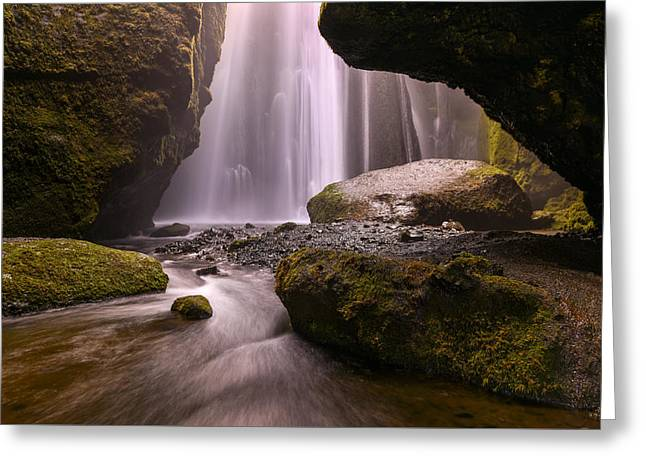 Cavern Of Dreams Greeting Card by Dustin  LeFevre