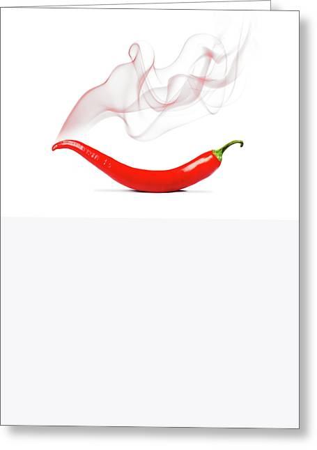 Cayenne Pepper Greeting Card