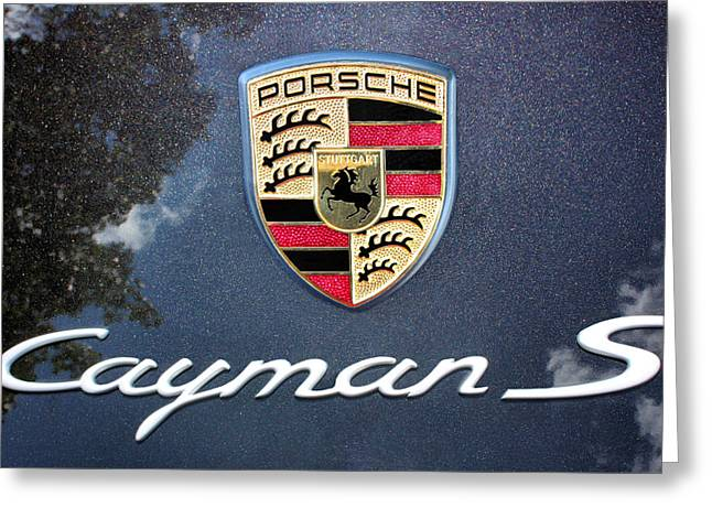 Cayman S Greeting Card