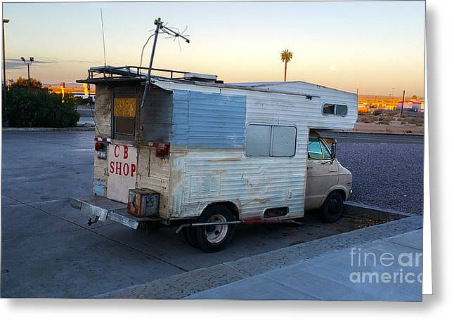 Cb Rv Greeting Card by Gregory Dyer