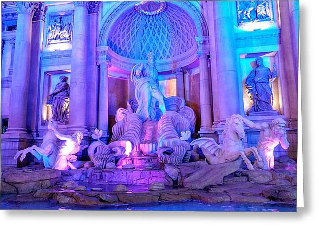 Ceasars Palace Forum Shops Greeting Card