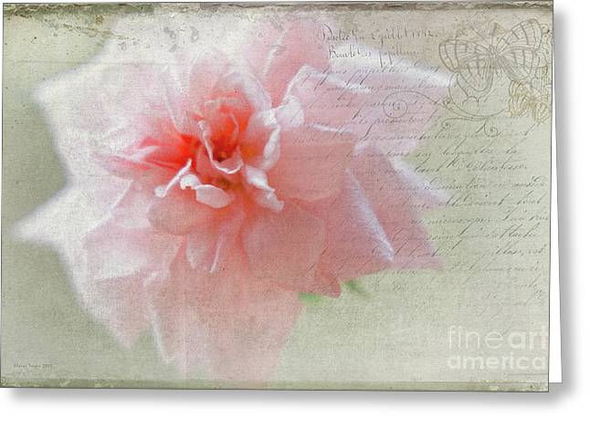 Cecile Greeting Card by Elaine Teague