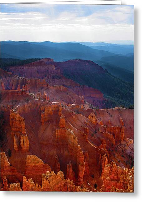 Cedar Breaks Brilliance Greeting Card