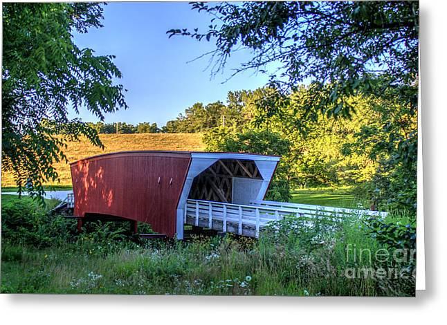 Cedar Bridge  Greeting Card