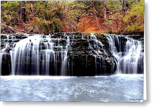 Cedar Creek Falls, Kansas Greeting Card
