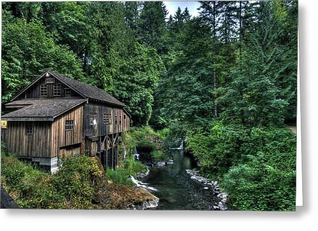 Cedar Creek Grist Mill Greeting Card
