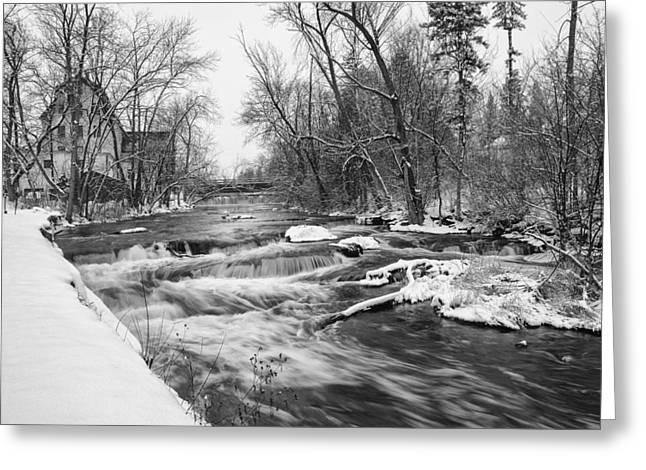 Cedar Creek Mill Greeting Card by Jeff Klingler
