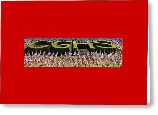 Cedar Grove Waves 2 Greeting Card by Allen Beatty