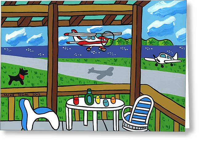 Cedar Key Airport Greeting Card
