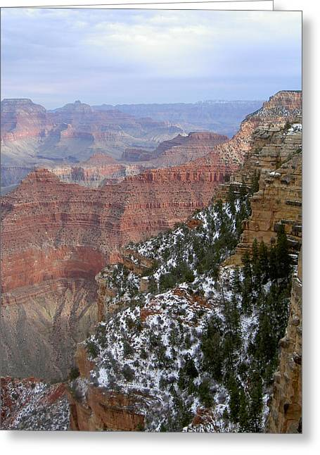 Cedar Ridge Grand Canyon Greeting Card