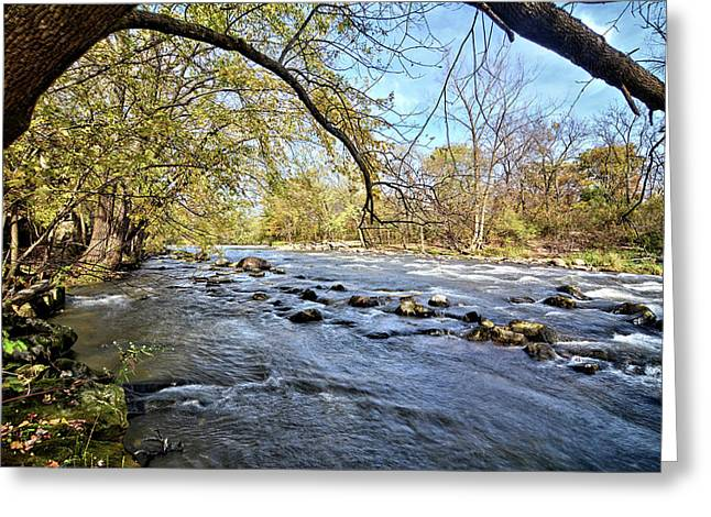 Cedar River 2 Greeting Card