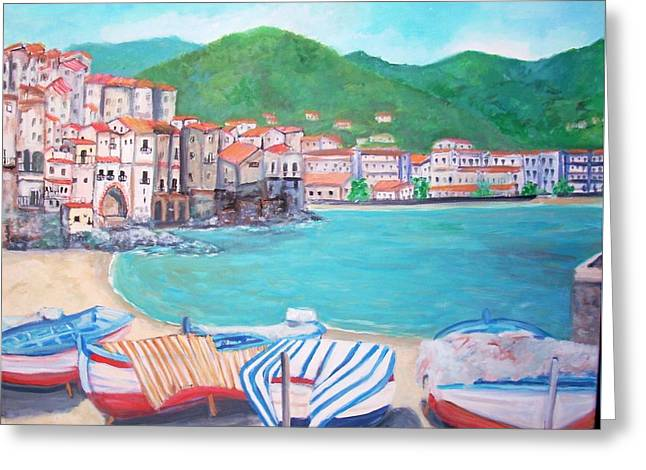 Cefalu In Sicily Greeting Card