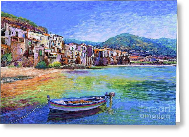 Cefalu Sicily Italy Greeting Card