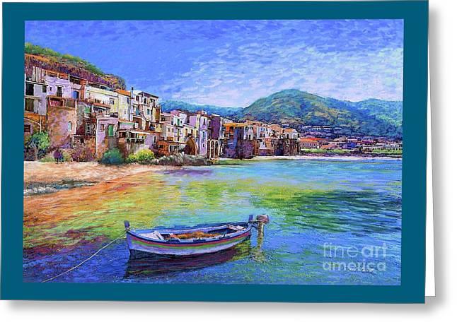 Cefalu Sicily Italy Greeting Card