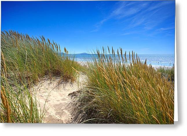 Cefn Sidan Beach 2 Greeting Card