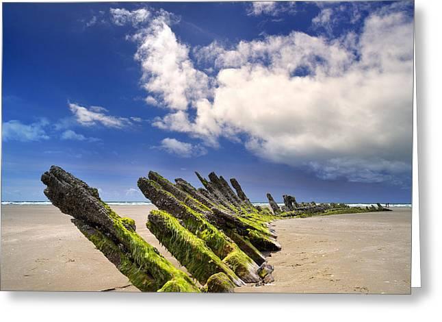 Cefn Sidan Beach 3 Greeting Card