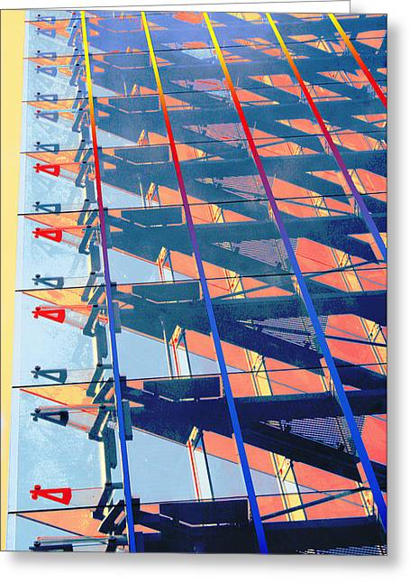 Ceilings Of Glass Greeting Card
