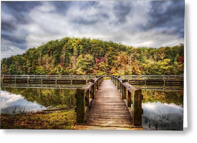 Celebrate Autumn Greeting Card by Debra and Dave Vanderlaan
