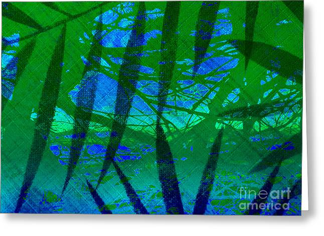Celebrate Your Way Into The New Year Greeting Card by Beverly Guilliams