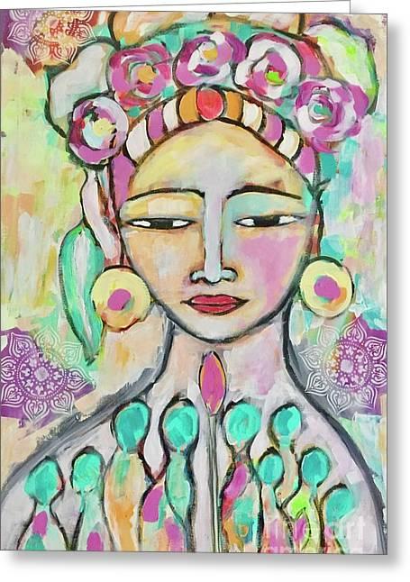 Celebrating Frida  Greeting Card