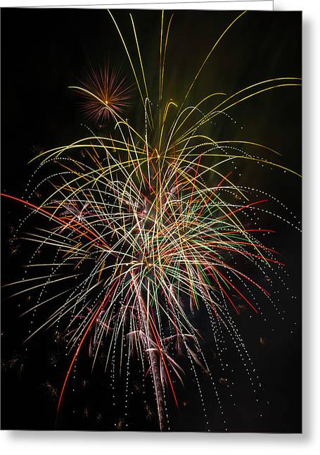 Celebrating The 4th Greeting Card by Garry Gay