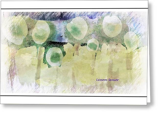 Celebration Greeting Card by Lenore Senior