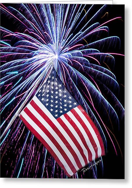 Celebration Of Freedom Greeting Card